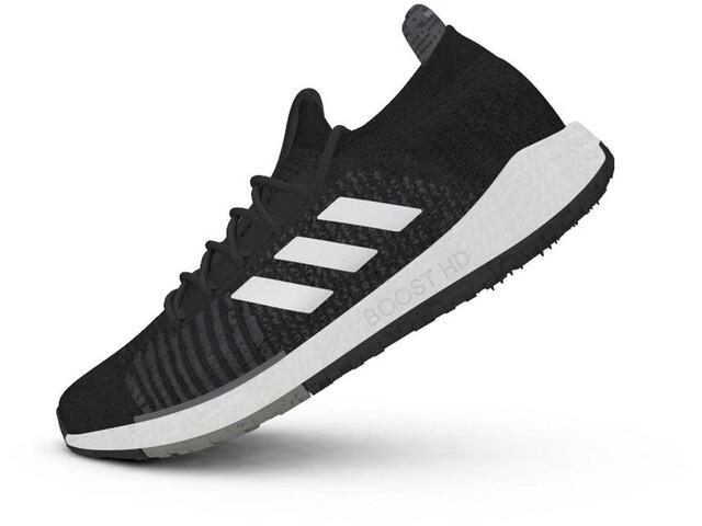 adidas Pulseboost HD Zapatillas Hombre, core black/footwear white/grey six